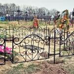 Ритуальные ограды – фото 1 | Кузнечная артель «Левша»