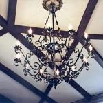 Люстры, бра, фонари – фото 2 | Кузнечная артель «Левша»