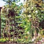 Перголы, цветочницы – фото 16 | Кузнечная артель «Левша»