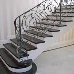 Лестницы и перила – фото 9 | Кузнечная артель «Левша»