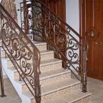 Лестницы и перила – фото 1 | Кузнечная артель «Левша»