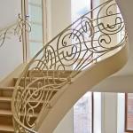 Лестницы и перила – фото 26 | Кузнечная артель «Левша»