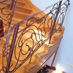Лестницы и перила – фото 34 | Кузнечная артель «Левша»