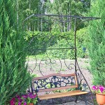 Перголы, цветочницы – фото 5 | Кузнечная артель «Левша»